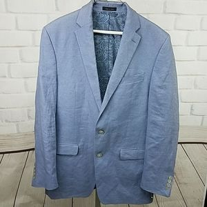 MENS RALPH LAUREN SPORTS BLAZER JACKET SZ 40L